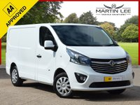 USED 2016 16 VAUXHALL VIVARO 1.6 2700 L1H1 CDTI P/V SPORTIVE 1d 114 BHP 1 0WNER FROM NEW +FSH+FULLY PLY LINED
