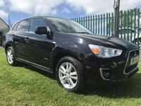 2013 MITSUBISHI ASX 1.8 DI-D 4 black fsh 2 owners 74000 miles very well loooked after car  £7495.00