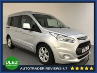 USED 2016 16 FORD TOURNEO CONNECT 1.5 TITANIUM TDCI 5d AUTO 118 BHP FULL FORD HISTORY - 1 OWNER - EURO 6 - PAN ROOF - REAR SENSORS - AIR CON - BLUETOOTH - DAB - CRUISE