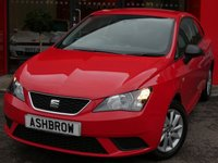 USED 2016 16 SEAT IBIZA 1.0 SOL 3d 75 BHP £30 ROAD TAX (118 G/KM), FULL SERVICE HISTORY, UPGRADE TOOLKIT + SPACE SAVING SPARE WHEEL, CRUISE CONTROL, DAB RADIO, BLUETOOTH PHONE & MUSIC STREAMING, USB INTERFACE, MANUAL GEARBOX, 15 INCH 10 SPOKE ALLOY WHEELS, ELECTRIC WINDOWS, ELECTRIC MIRRORS, TRIP COMPUTER, ISO FIX CHILD SEAT MOUNTS, AIR CONDITIONING, SD CARD READER, MULTIFUNCTION STEERING WHEEL, VANITY MIRRORS, AIRBAGS WITH PASSENGER OFF FUNCTION, REMOTE CENTRAL LOCKING, TYRE PRESSURE MONITORING SYSTEM, VAT QUALIFYING.