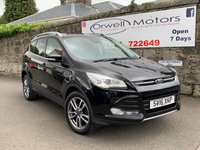 USED 2016 16 FORD KUGA 2.0 TITANIUM X TDCI 5d 148 BHP FINANCE AVAILABLE+PANORAMIC OPENING GLASS SUNROOF+LEATHER+CRUISE CONTROL
