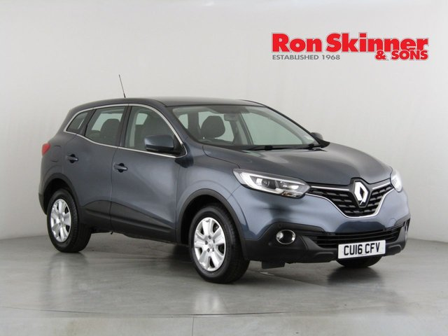View our 2016 16 RENAULT KADJAR 1.5 EXPRESSION PLUS DCI 5d 110 BHP
