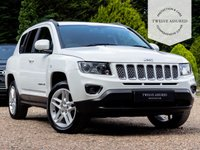 USED 2013 63 JEEP COMPASS 2.1 CRD LIMITED 5d 161 BHP