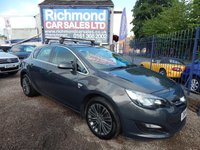 USED 2014 14 VAUXHALL ASTRA 1.4 EXCITE 5d 98 BHP 1 OWNER , FULL SERVICE HISTORY, GREAT VALUE, 1/2 LEATHER, ALLOYS,