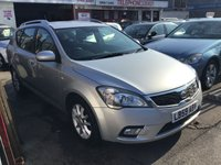 USED 2009 59 KIA CEED 1.6 2 SW 5d 125 BHP Useful duel purpose estate car, well cared for, superb.