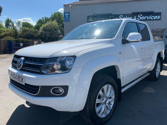 2015 64 VOLKSWAGEN AMAROK 2.0 BiTDI BlueMotion Tech Highline+ Per Pickup 4MOTION 4dr