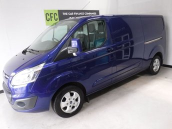2015 FORD TRANSIT CUSTOM 2.2 290 LIMITED LR P/V 1d 124 BHP £12500.00