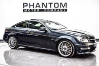 USED 2012 62 MERCEDES-BENZ C CLASS 6.2 C63 AMG 2d AUTO 457 BHP