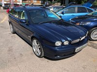 USED 2006 06 JAGUAR X-TYPE 2.0 SPORT D 5d 130 BHP HALF LEATHER, CLIMATE CONTROL, SUPPLIED WITH A NEW MOT