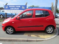 USED 2009 59 HYUNDAI I10 1.2 COMFORT 5d 77 BHP One Owner Car-£30 Road Tax-Service History-Spare Key