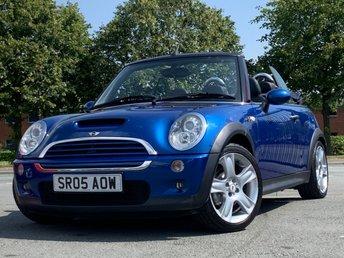2005 MINI CONVERTIBLE 1.6 COOPER S 2d 168 BHP £2795.00