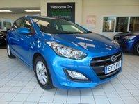 2017 HYUNDAI I30 1.6 CRDI SE BLUE DRIVE 5d 109 BHP £9495.00
