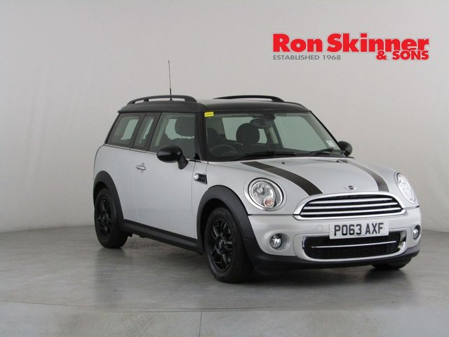 View our 2013 63 MINI CLUBMAN 1.6 COOPER D 5d 112 BHP
