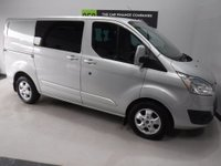 USED 2015 65 FORD TRANSIT CUSTOM 2.2 290 LIMITED LR DCB 1d 124 BHP ONE OWNER, SERVICE HISTORY, PARKING SENSORS