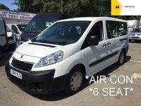 2014 PEUGEOT EXPERT 6 SEAT CREW VAN 2.0 HDI COMFORT LWB 128 BHP*AIR CON*