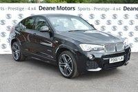 USED 2016 66 BMW X4 3.0 XDRIVE30D M SPORT 4d AUTO 255 BHP MSPORT PLUS PACK
