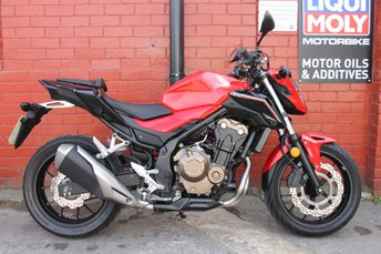 View our HONDA CB500