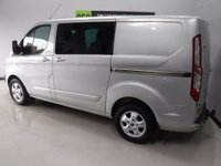 USED 2015 15 FORD TRANSIT CUSTOM 2.2 290 LIMITED LR DCB 1d 124 BHP 6 SEATER CREW CAB