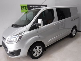 2015 FORD TRANSIT CUSTOM 2.2 290 LIMITED LR DCB 1d 124 BHP £13800.00