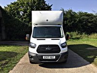 USED 2017 17 FORD TRANSIT 2.0 350 L3 C/C 1d 129 BHP LUTON TAIL; LIFT EURO 6 EURO 6 FOR LONDON, EXTRA LONG WHEEL BASE,