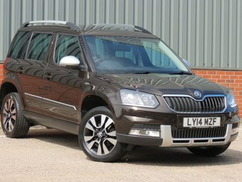 2014 SKODA YETI 2.0 OUTDOOR LAURIN AND KLEMENT TDI CR DSG 5d AUTO 138 BHP £SOLD