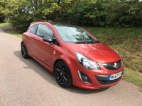 USED 2013 63 VAUXHALL CORSA 1.2 LIMITED EDITION 3d 83 BHP **LOW MILEAGE**SUPERB DRIVE**STYLISH LOOKING CAR