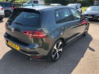 USED 2017 66 VOLKSWAGEN GOLF 2.0 GTI DSG 5d AUTO 218 BHP This immaculate example of the fantastic Golf GTi is finished in stunning Carbon Steel grey metallic paint. The Golf Gti practicality and performance ticks every box for car enthusiasts. This GTi has the benefit of active cruise control and Android/Apple play with Siri.
