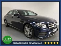 USED 2017 67 MERCEDES-BENZ E CLASS 2.0 E 220 D AMG LINE 4d AUTO 192 BHP FULL HISTORY -  SAT NAV - PARKING SENSORS - CAMERA - HALF LEATHER - AIR CON - BLUETOOTH - DAB