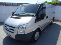 USED 2010 10 FORD TRANSIT 2.2 280 TREND LR 1d 115 BHP FORD TRANSIT TREND MEDIUM WHEEL BASE AIR CON TWIN SLIDING DOORS NO VAT NO VAT