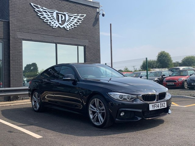 USED 2014 14 BMW 4 SERIES 2.0 420D M SPORT GRAN COUPE 4d AUTO 181 BHP DAB | SATNAV | HEATED FULL RED LEATHER | BLUETOOTH |