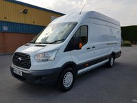 USED 2015 15 FORD TRANSIT 2.2 350 TREND H/R P/V 1d 153 BHP 1 Owner/ Rear Camera/ A.C/ Parking Sensors/ Bluetooth