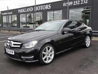 USED 2014 64 MERCEDES-BENZ C CLASS 2.1 C220 CDI AMG SPORT EDITION 2d 168 BHP AA WARRANTY,  MOT AND SERVICE INCLUDED