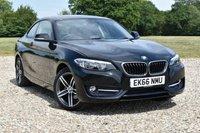 USED 2016 66 BMW 2 SERIES 2.0 218D SPORT 2d AUTO 148 BHP