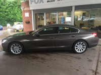 USED 2013 13 BMW 6 SERIES 3.0 640D SE GRAN COUPE 4d AUTO 309 BHP STUNNING BMW 640D GRAN COUPE