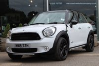 2015 MINI COUNTRYMAN 2.0 COOPER D ALL4 5d AUTO 110 BHP £13280.00