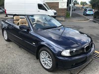 2003 BMW 3 SERIES 2.0 318CI 2d 141 BHP £2995.00