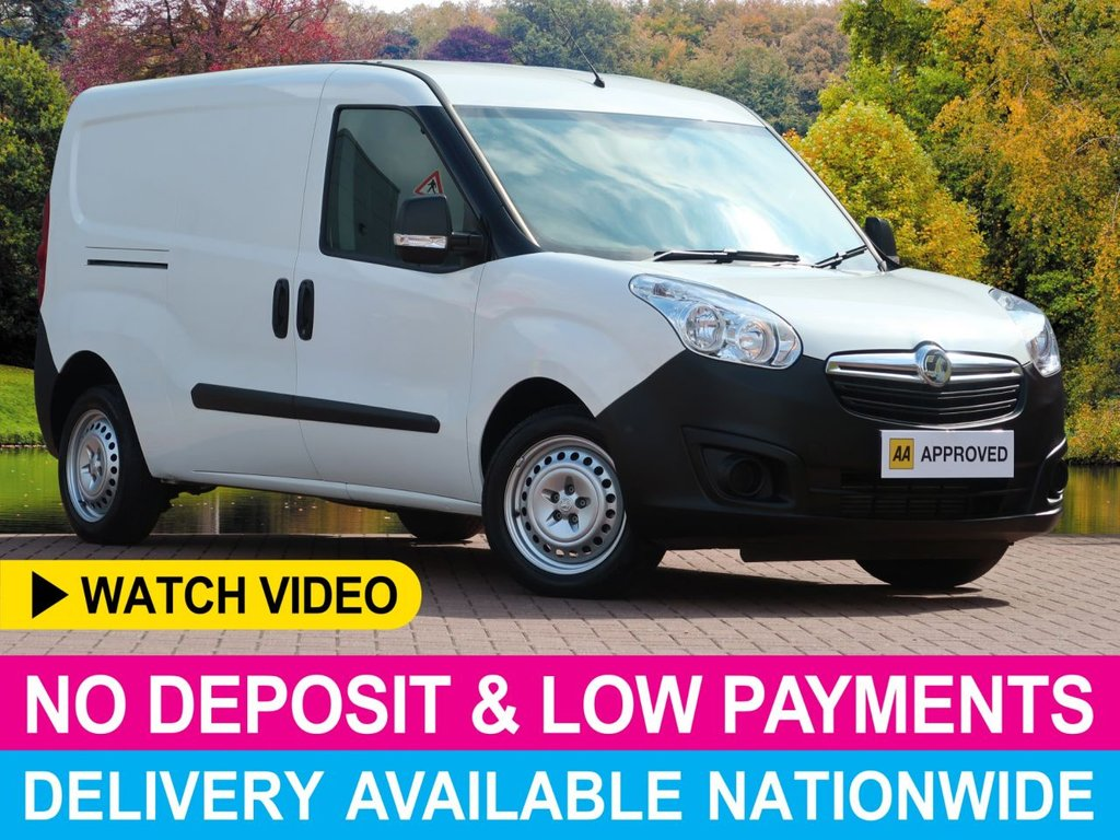 USED 2016 16 VAUXHALL COMBO 1.6 CDTI AUTOMATIC LWB L2H1 2300 KG PANEL VAN TWIN SLIDING DOORS AUTOMATIC LONG WHEEL BASE PLY-LINED