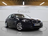 """USED 2013 63 BMW 5 SERIES 2.0 520D SE 4d AUTO 181 BHP **NO ULEZ CHARGE ON THIS VEHICLE** SAT NAV 