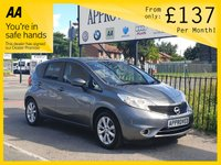 2016 NISSAN NOTE 1.2 ACENTA DIG-S 5d AUTO 98 BHP £7995.00