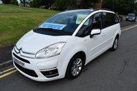 2013 CITROEN C4 GRAND PICASSO 1.6 E-HDI EDITION EGS 5d AUTO 110 BHP £6499.00