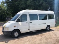2004 VOLKSWAGEN LT 2.5TDI 35 109 BHP LWB HIGH ROOF DISABLED PASSENGER MINI BUS £3250.00