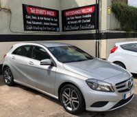 USED 2015 15 MERCEDES-BENZ A CLASS A200 2.1 CDi SPORT 5DR 136 BHP, ONLY £30 ROAD TAX FULL SERVICE HISTORY & EXCELLENT FUEL ECONOMY