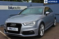 USED 2014 14 AUDI A3 2.0 TDI QUATTRO S LINE 3d AUTO 182 BHP Immaculate Condition.... 2 Private Owners, Full Audi History, S-Line Spec......