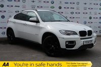 USED 2014 14 BMW X6 3.0 XDRIVE30D 4d 241 BHP LOW MILEAGE+SAT NAV+LEATHER