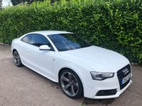 2012 AUDI A5 2.0 TDI BLACK EDITION 2d 177 BHP £12475.00