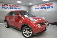 USED 2016 65 NISSAN JUKE 1.5 TEKNA DCI 5d 110 BHP Full Service history, Sat Nav, Bluetooth, Full Leather