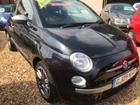USED 2009 09 FIAT 500 1.2 BY DIESEL MULTIJET 75 3d 75 BHP RARE CAR, VERY WELL SPEC`D: