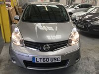 USED 2010 60 NISSAN NOTE 1.6 TEKNA 5d AUTO 110 BHP