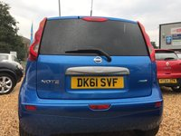 USED 2012 61 NISSAN NOTE 1.5 N-TEC DCI 5d 89 BHP ONLY £20 YEARLY ROAD TAX:
