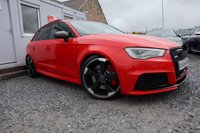 USED 2016 16 AUDI RS3 Sportback Quattro 2.5 TFSI S Tronic 5dr ( 430 bhp ) Low Mileage Stunning Looker with Top Spec £5k Worth of Extras Ceramic Coating